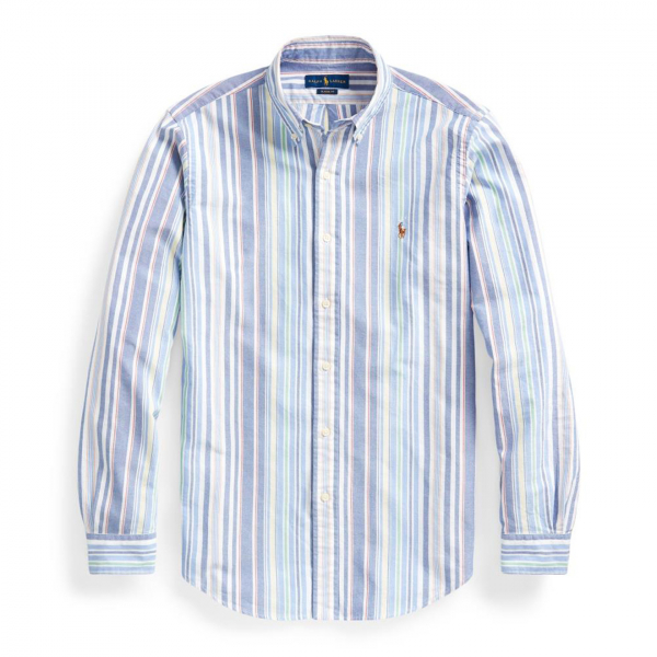 Polo Ralph Lauren Custom Fit Striped Shirt Multi