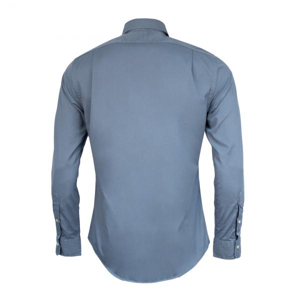Polo Ralph Lauren Garment Dyed Chino L/S Shirt Camp Blue
