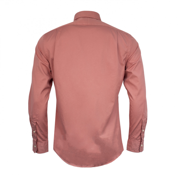 Polo Ralph Lauren Garment Dyed Chino L/S Shirt Pink