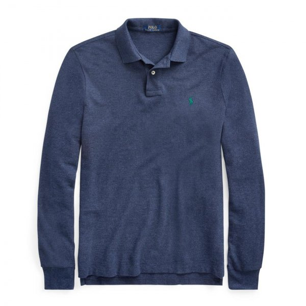 Polo Ralph Lauren L/S Classic Polo Fresco Blue Heather