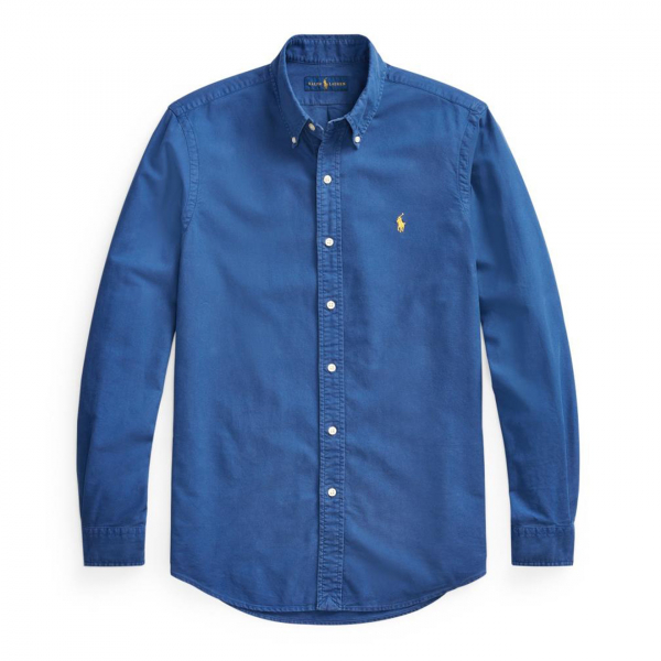 Polo Ralph Lauren Oxford L/S Slim Fit Shirt Blue