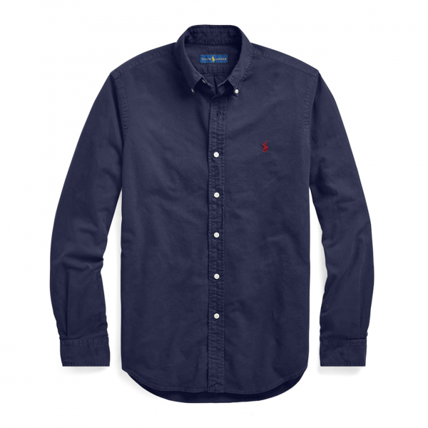 Polo Ralph Lauren Oxford L/S Slim Fit Shirt Navy