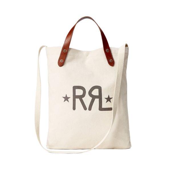 RRL by Ralph Lauren Canvas Market Tote Greige