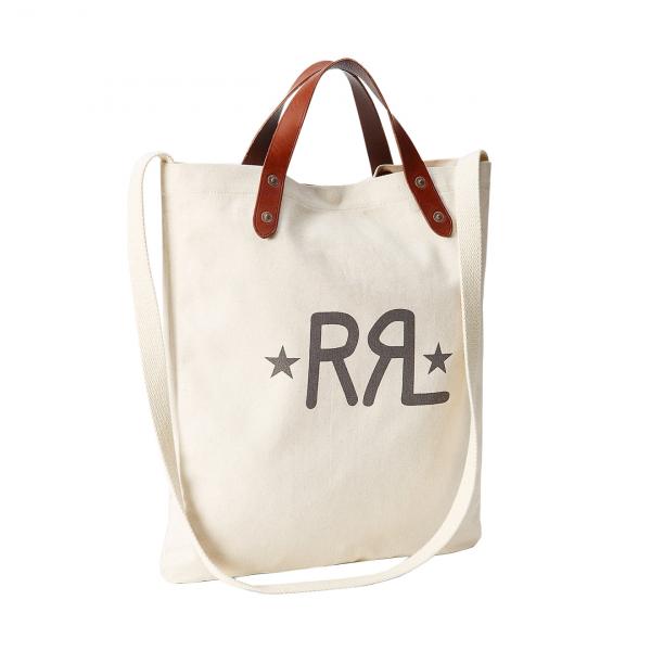 RRL by Ralph Lauren Canvas Market Tote Greige