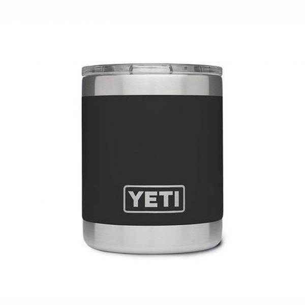 YETI Rambler Lowball Cup Black