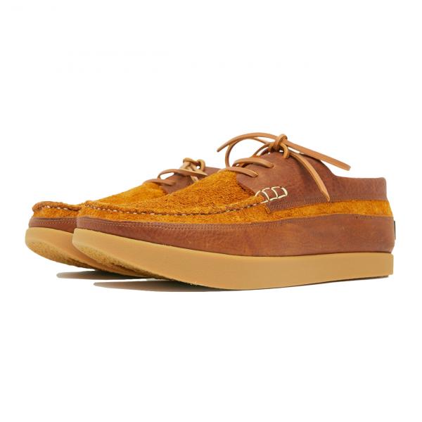 Yogi Logan Tumbled Leather / Reverse Shoe Chestnut Brown