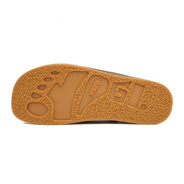 Yogi Logan Tumbled Leather / Reverse Shoe Olive