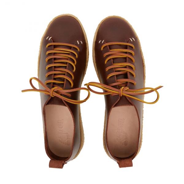 Yogi Rufus Leather Shoe Brown