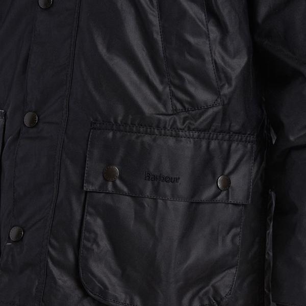 Barbour Bedale Wax Jacket Black