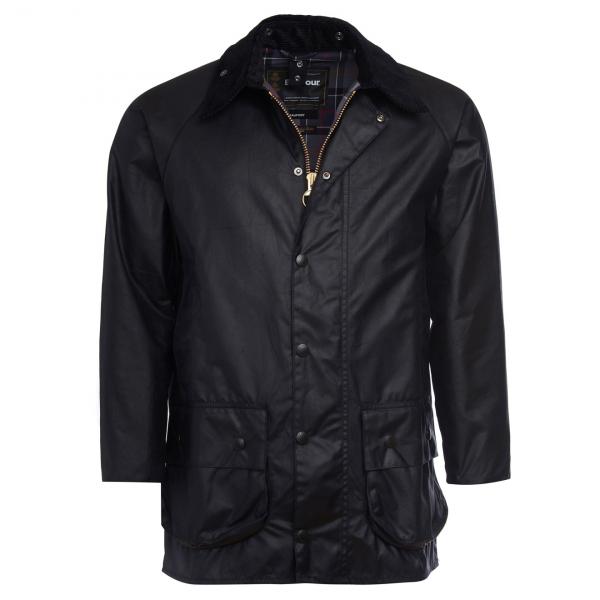 Barbour Beufort Wax Jacket Black