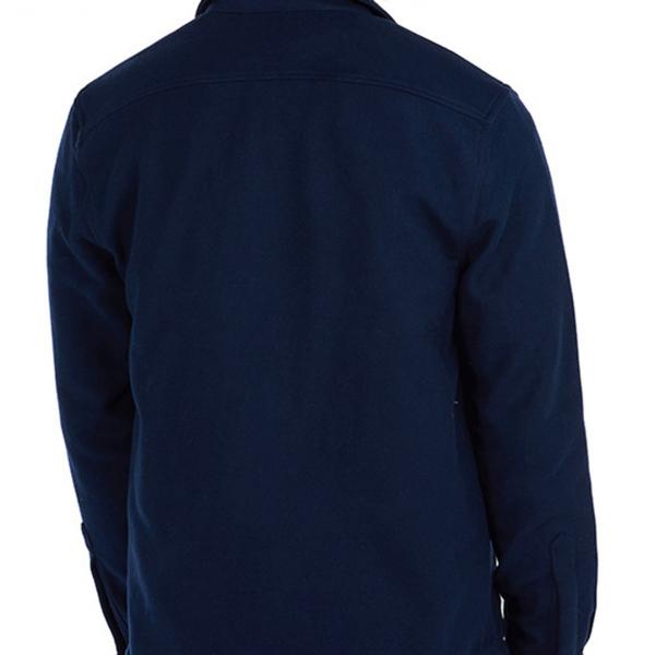 Barbour Cambridge Overshirt LS Shirt Navy Back