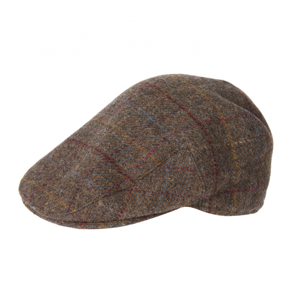 Barbour Crieff Cap Olive / Blue / Red