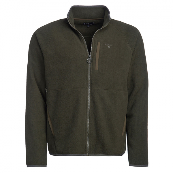 Barbour Essential Fleece Zip Through Forest