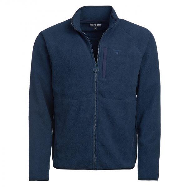 Barbour Essential Fleece Zip Through Navy
