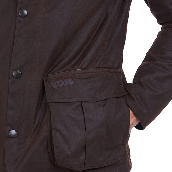 Barbour Gilpin Wax Jacket Rustic