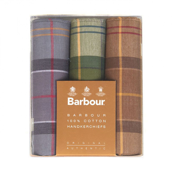 Barbour Handkerchief Pack Barbour Classic Tartan 2