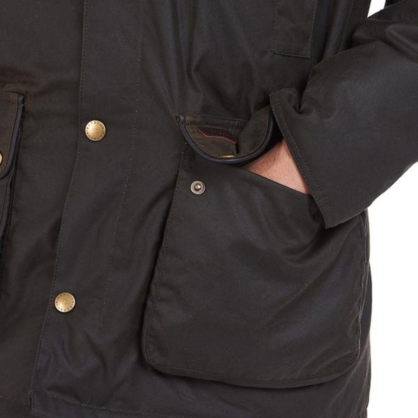 Barbour Hartlington Wax Jacket Olive