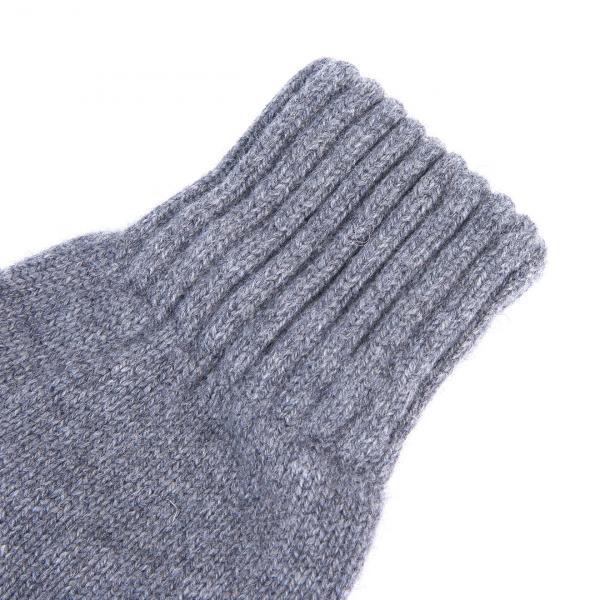 Barbour Lambswool Gloves Grey