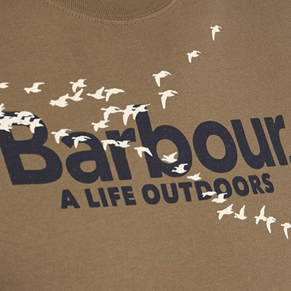 Barbour Outdoor T-Shirt Mid Olive