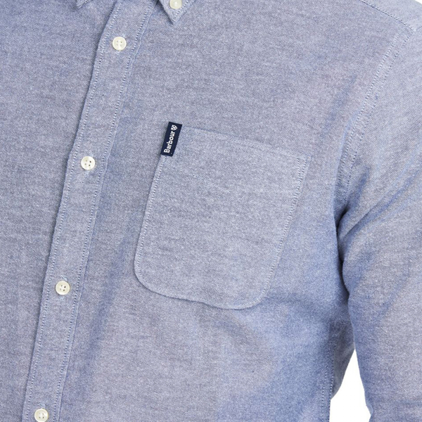 Barbour Oxford L/S Tailored Shirt Navy