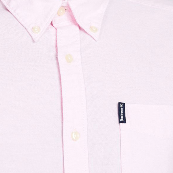 Barbour Oxford L/S Tailored Shirt Pink