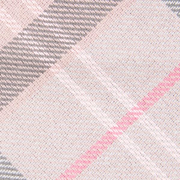 Barbour Tartan Bandana Taupe / Pink Tartan Pattern