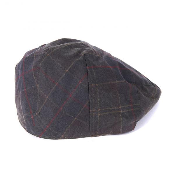 Barbour Tartan Wax Flat Cap Classic Tartan