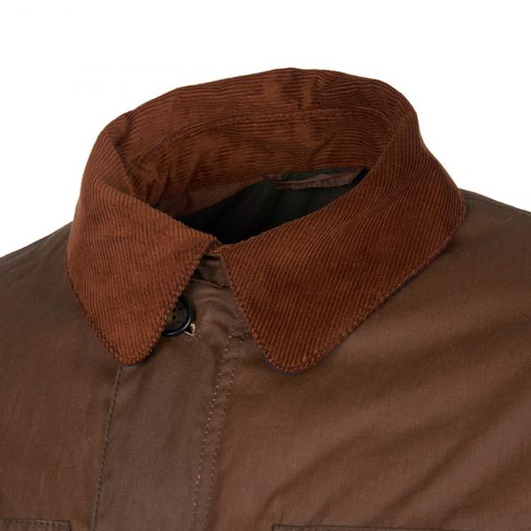 Barbour Teddon Wax Jacket Brown