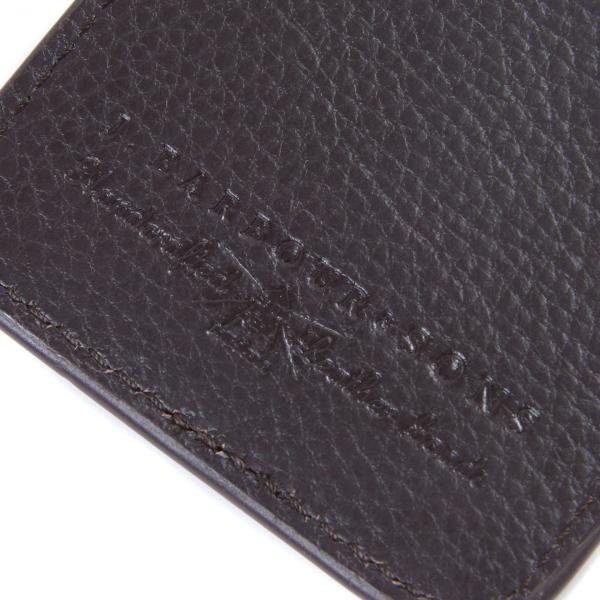 Barbour Wallet / Card Holder Gift Set Dark Brown