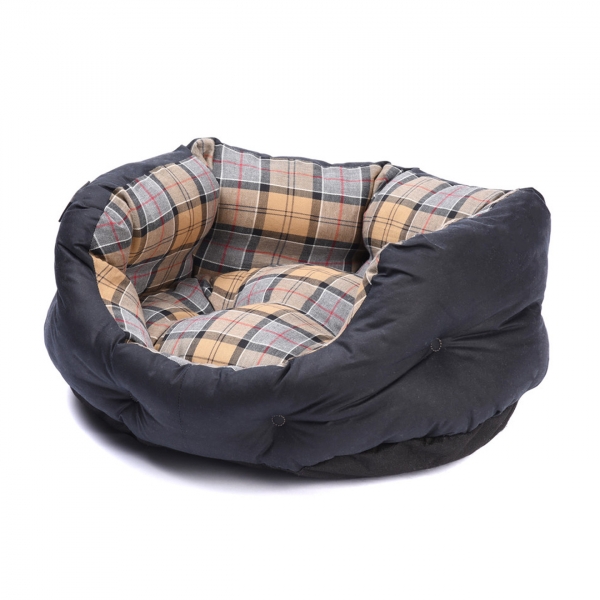 Barbour Wax Cotton Dog Bed 24 Inches