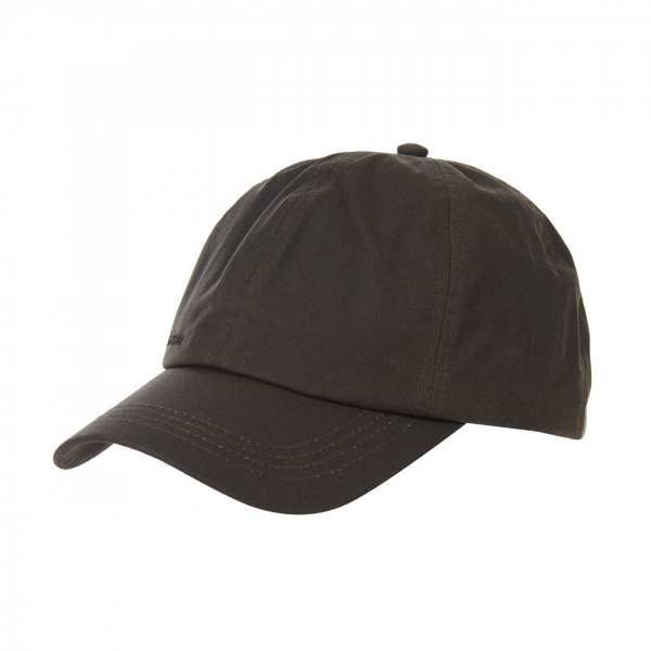 Barbour Wax Sports Cap Olive / Seaweed