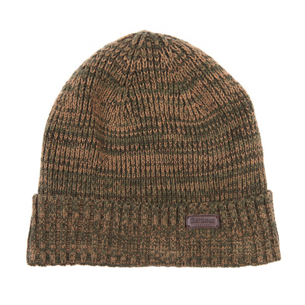Barbour Whitton Beanie Hat Olive