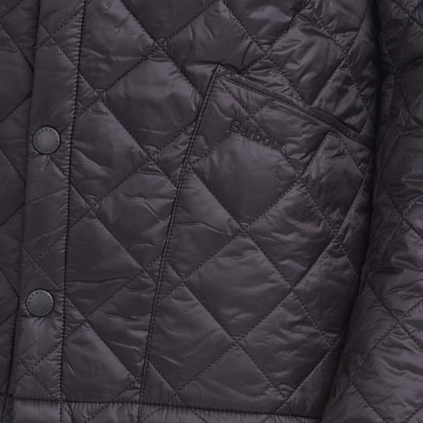 Barbour Winter Heritage Liddlesdale Quilt Jacket Black