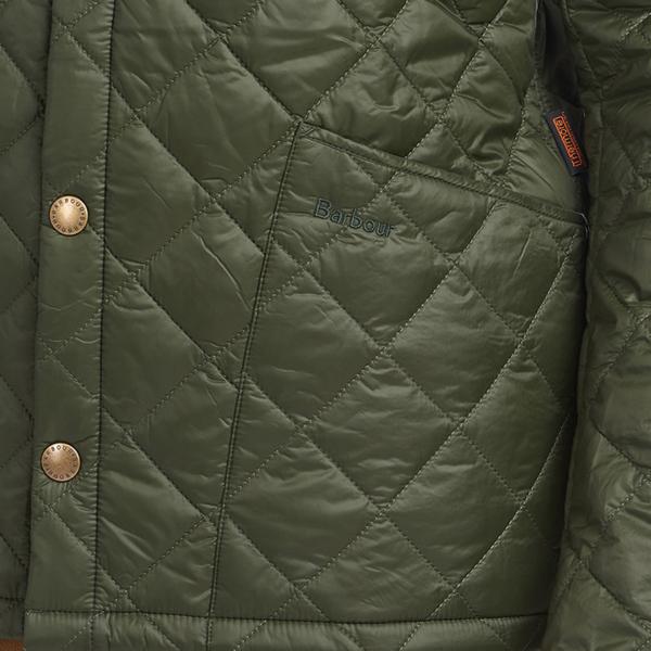 Barbour Winter Heritage Liddlesdale Quilt Jacket Sage
