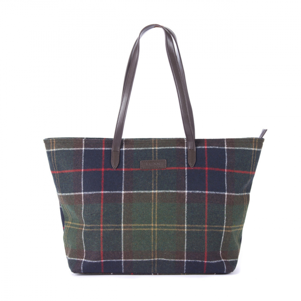 Barbour Witford Tote Bag Classic Tartan