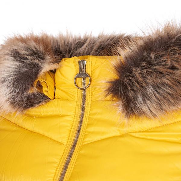 Barbour Womens Irving Quilt Jacket Golden Yellow