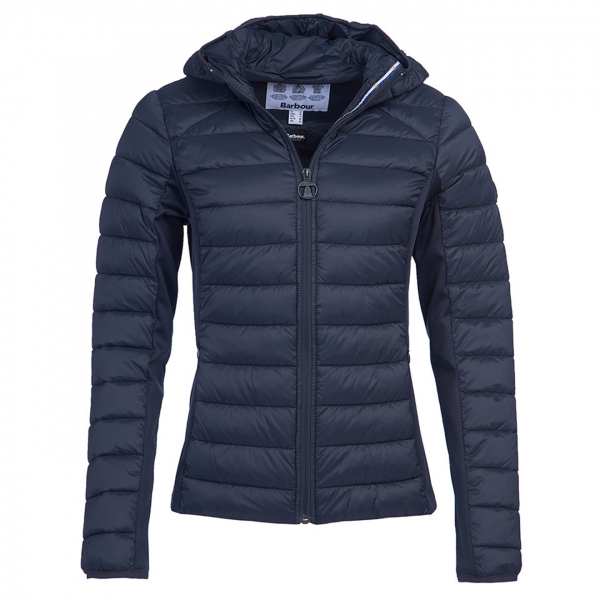 Barbour Womens Murrelet Quilt Jacket Dark Navy
