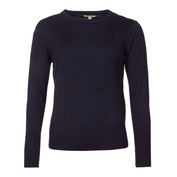 Barbour Womens Ridley Knit Navy