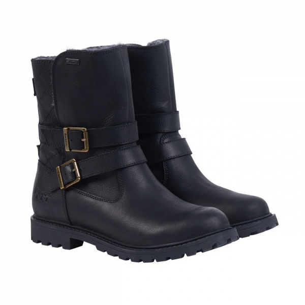 Barbour Womens Sycamore Boots Black