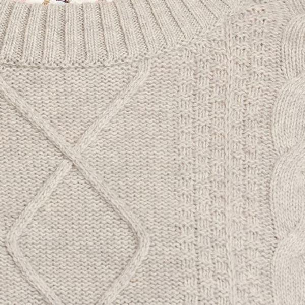 Barbour Womens Wildsmith Knit Grey Marl