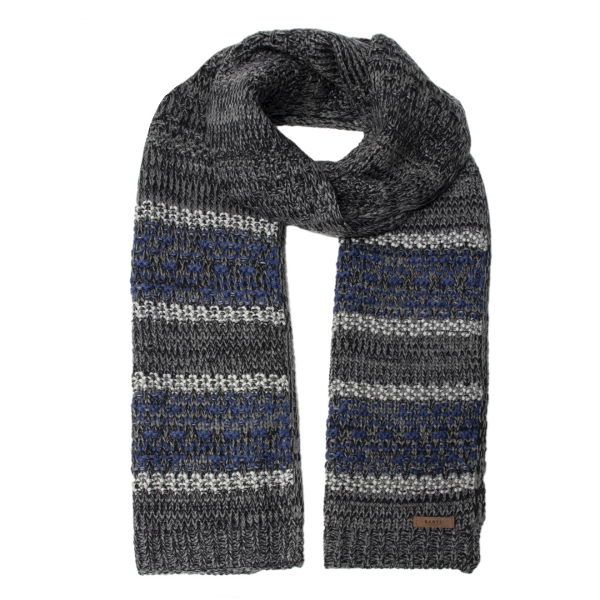 Barts Jonathon Scarf Dark Heather