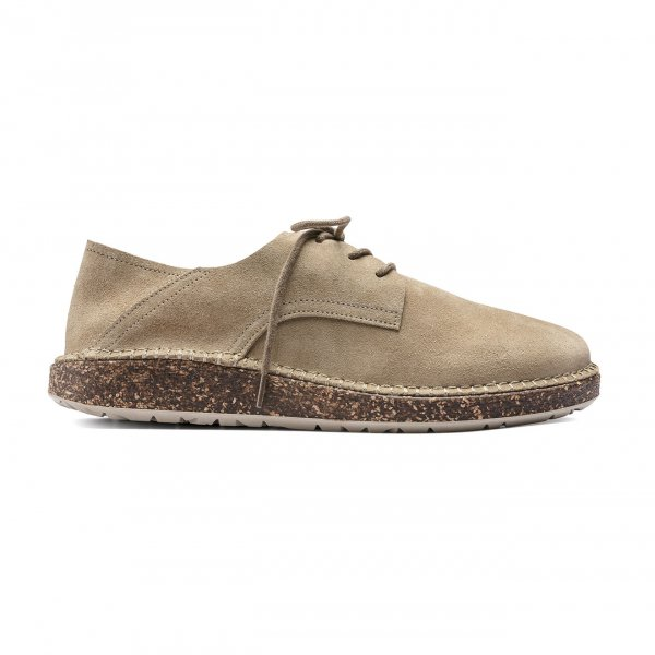 Birkenstock Womens Gary Ginger Suede Leather