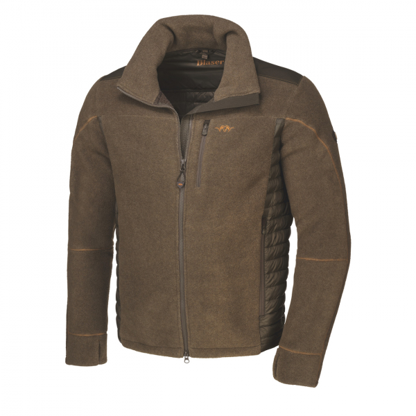 Blaser Fleece Jacket Johann Mud