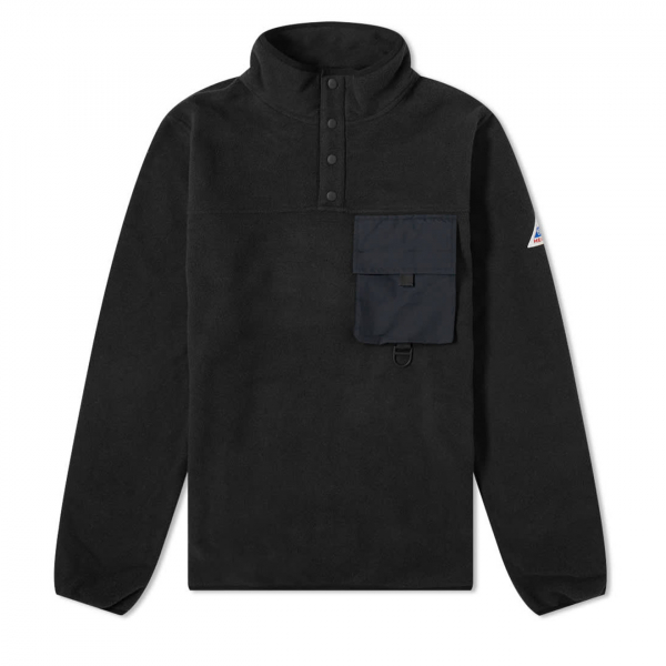 Cape Heights Pilot Popover Fleece Black