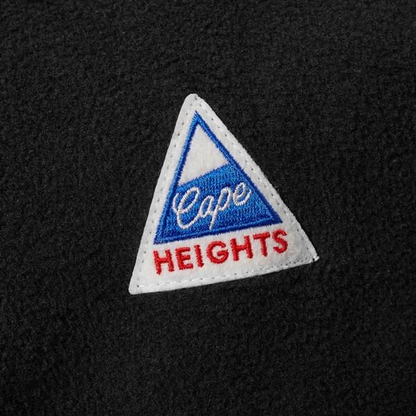 Cape Heights Pilot Popover Fleece Black