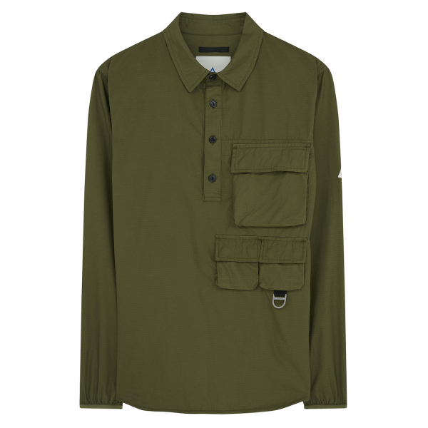 Cape Heights Raymore Popover Shirt Olive