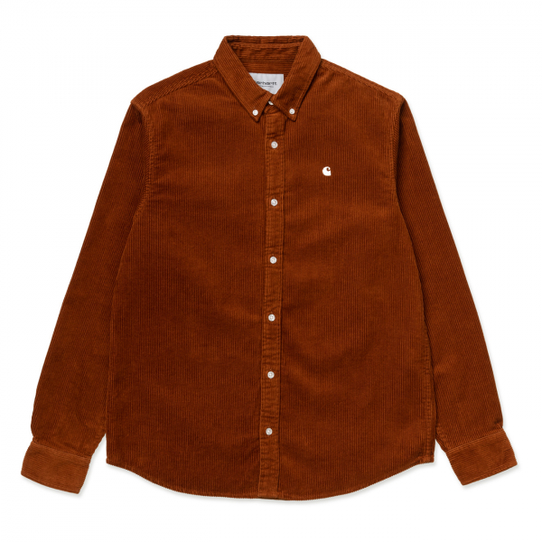Carhartt Madison Cord Shirt Brandy / Wax