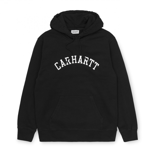 Carhartt Hooded University Sweat Black / White