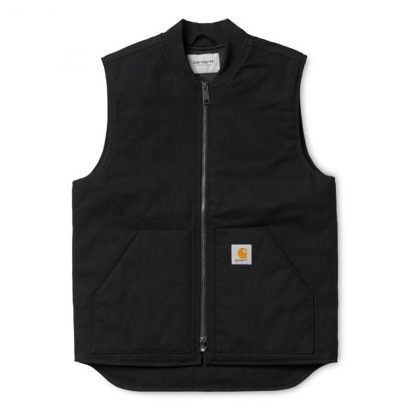 Carhartt Vest Canvas Rigid Black