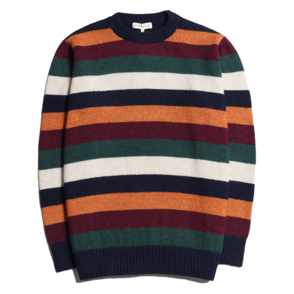 Far Afield Maxim Stripe Mohair Knit Multi